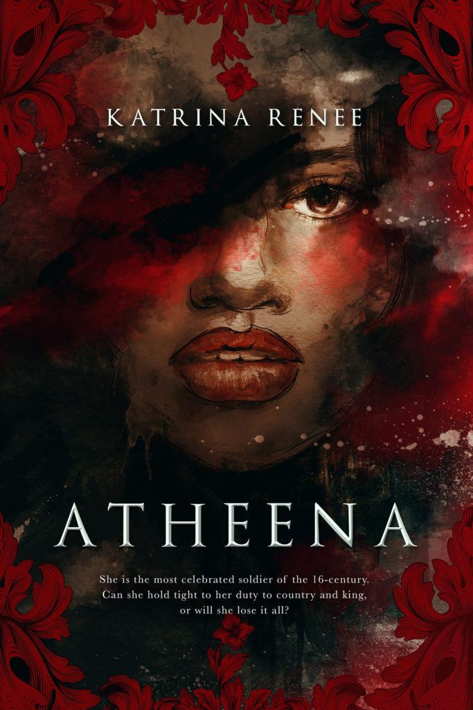Cover Art for Atheena by Katrina Renee