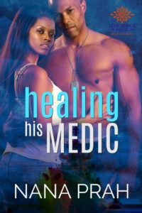 Cover Art for Healing His Medic by Nana Prah