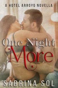 Cover Art for One Night More by Sabrina Sol