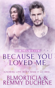 Cover Art for Because You Loved Me by BLMorticia  Remmy Duchene