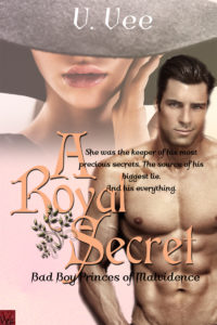 Cover Art for A Royal Secret by V. Vee