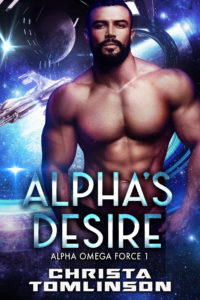 Cover Art for Alpha's Desire by Christa Tomlinson