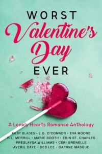 Cover Art for Worst Valentine's Day Ever: A Lonely Hearts Romance Anthology by Kilby Blades