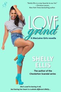 Cover Art for LOVE GRIND by Shelly Ellis