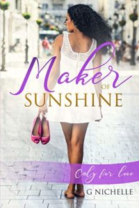 Cover Art for MAKER OF SUNSHINE by G. Nichelle
