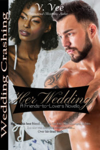Cover Art for Her Wedding by V. Vee