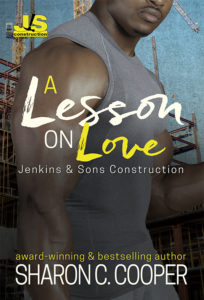 Cover Art for A Lesson on Love by Sharon C Cooper