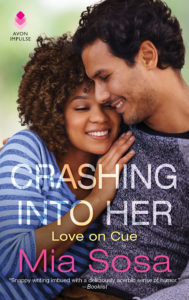 Cover Art for Crashing Into Her by Mia Sosa