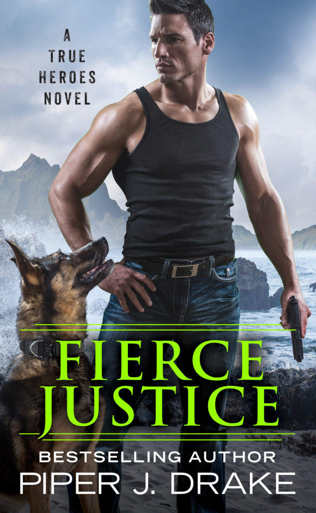 Cover Art for Fierce Justice by Piper J. Drake