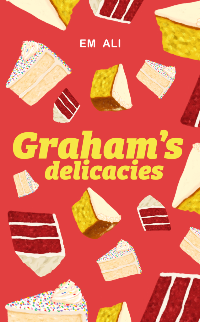 Cover Art for Graham's Delicacies by Em Ali