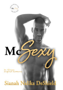 Cover Art for McSexy by Sianah Nalika DeShield