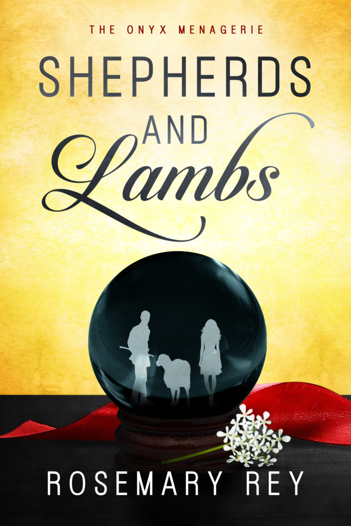 Cover Art for Shepherds and Lambs by Rosemary Rey