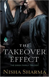 Cover Art for The Takeover Effect by Nisha Sharma