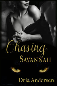 Cover Art for Chasing Savannah by Dria Andersen