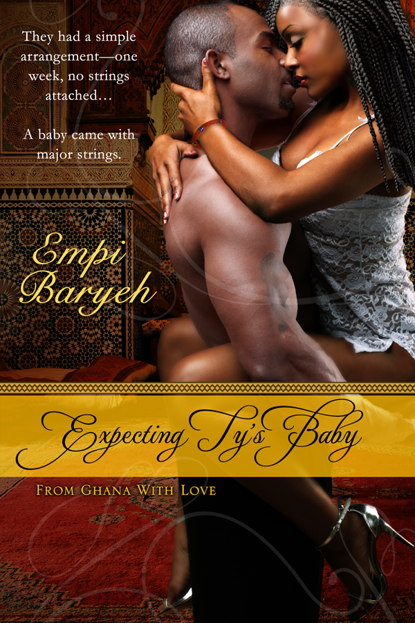 Cover Art for Expecting Ty's Baby by Empi Baryeh