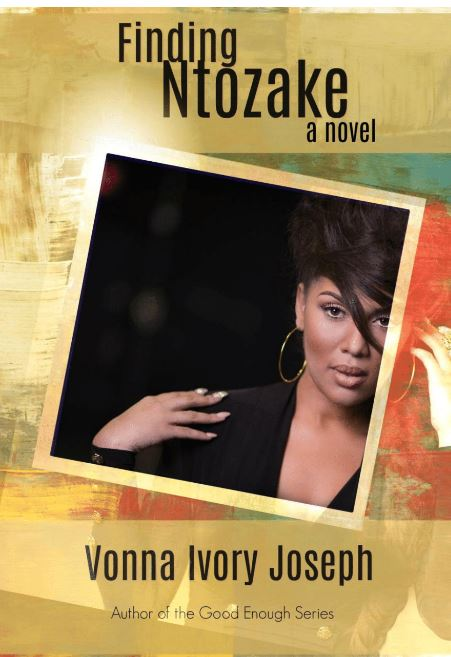 Cover Art for Finding Ntozake by Vonna Ivory Joseph