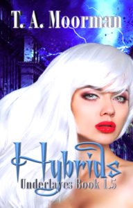 Cover Art for Hybrids by T. A.  Moorman