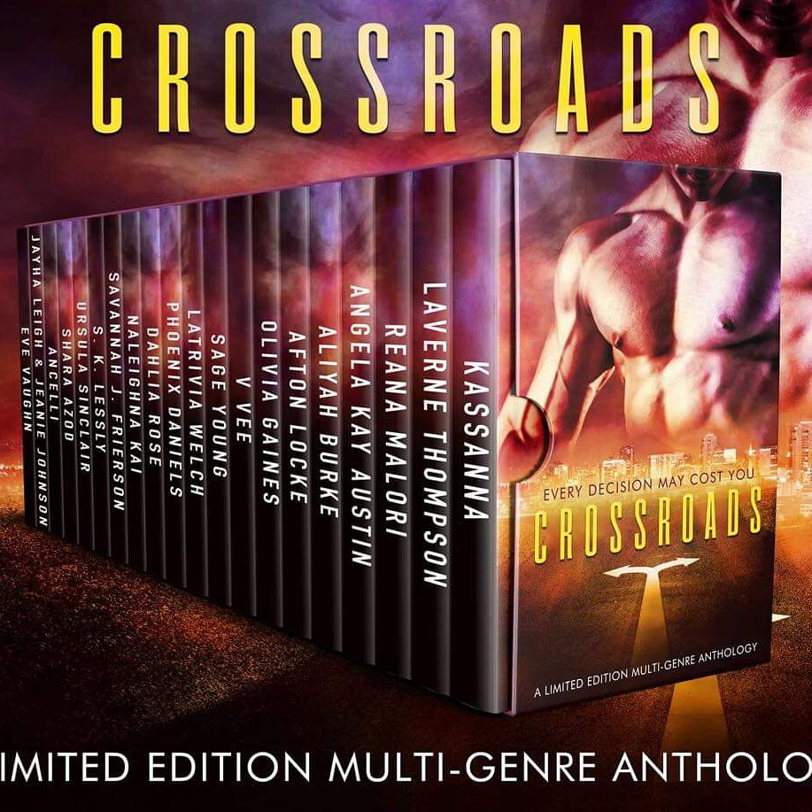 Cover Art for Crossroads Anthology by Multiauthor