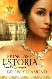Cover Art for Princess of Estoria by Delaney Diamond