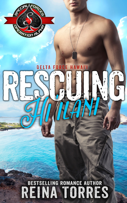 Cover Art for Rescuing Hi'ilani by Reina Torres