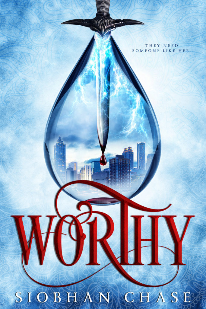 Cover Art for Worthy by Siobhan Chase