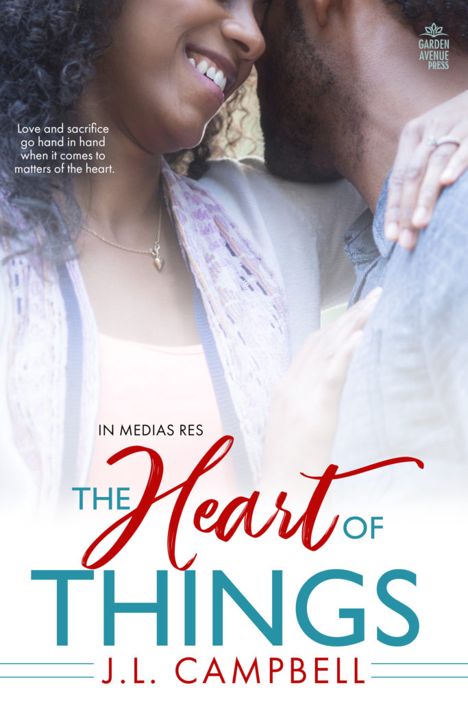 Cover Art for The Heart of Things by Joy Campbell