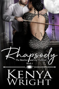 Cover Art for Rhapsody by Kenya Wright