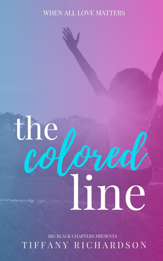 Cover Art for The Colored Line by Tiffany Richardson
