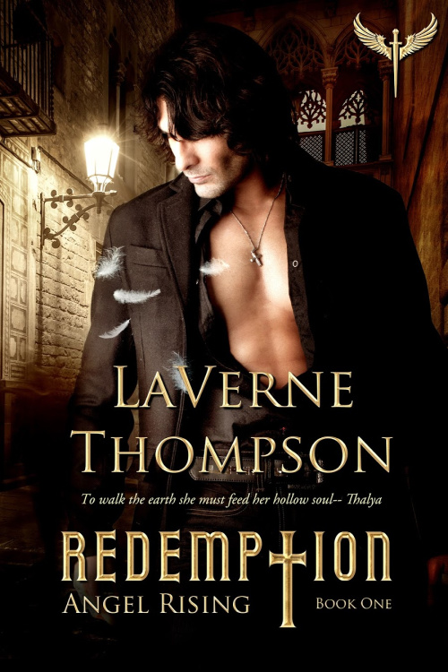 Cover Art for Angel Rising- Redemption Book 1 by LaVerne Thompson