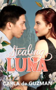 Cover Art for Stealing Luna by Carla de Guzman
