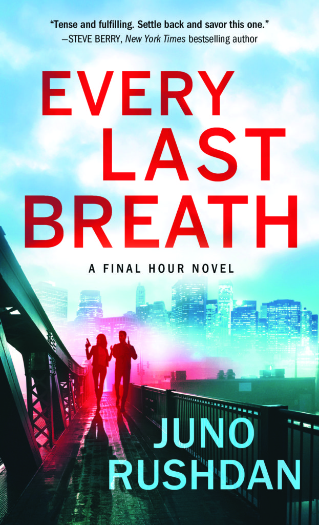 Cover Art for Every Last Breath by Juno Rushdan