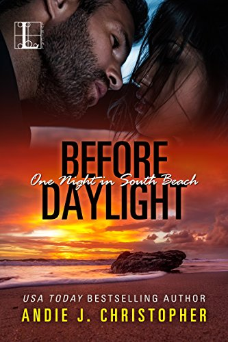 Cover Art for Before Daylight (One Night in South Beach Book 3) by Andie J. Christopher