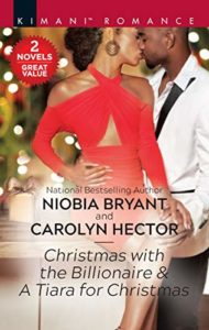 Cover Art for A Tiara for Christmas by Carolyn Hector