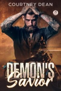 Cover Art for Demon's Savior by Courtney Dean
