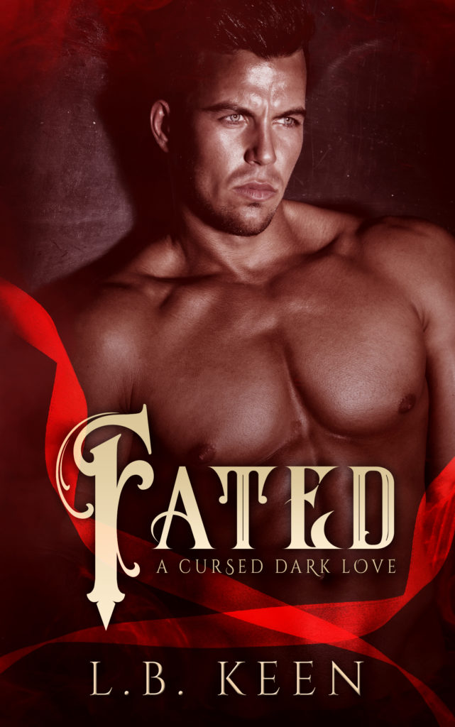 Cover Art for Fated; A dark fantasy romance by L.B.  Keen