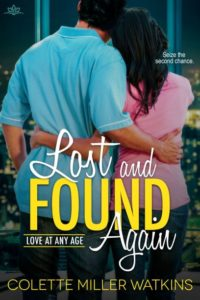 Cover Art for Lost and Found Again by Colette Miller Watkins