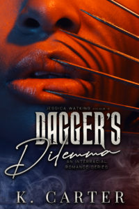 Cover Art for Dagger's Dilemma: Not Lady Like series by K. Carter