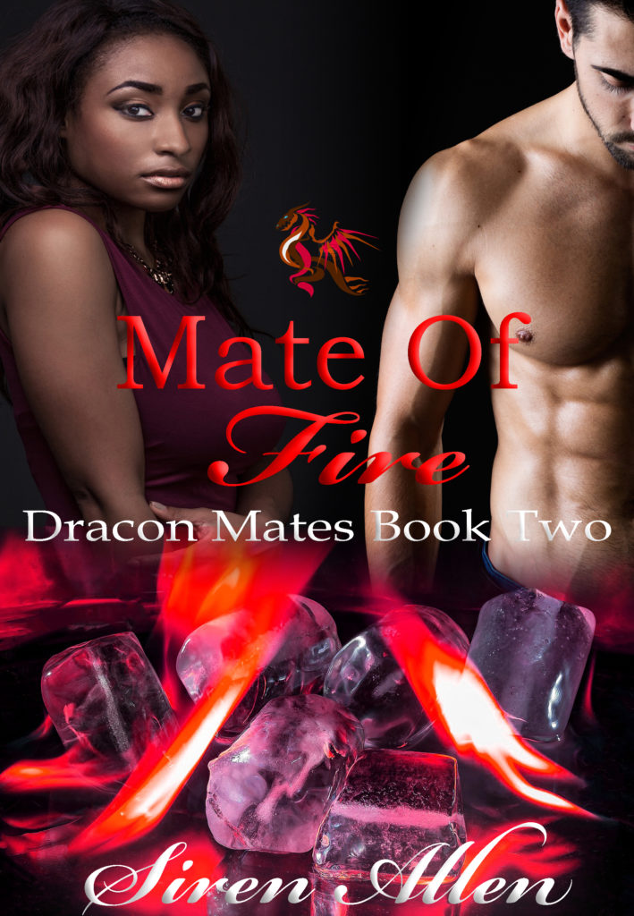 Cover Art for Mate of Fire by Siren Allen