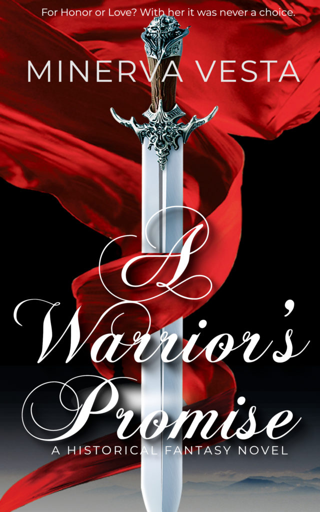 Cover Art for A Warrior's Promise by Minerva Vesta