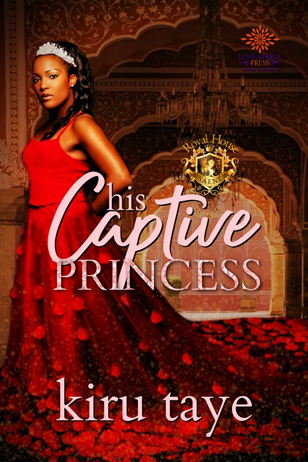 Cover Art for His Captive Princess by Kiru Taye