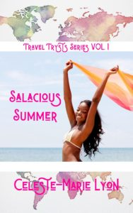 Cover Art for Salacious Summer by Celeste-Marie Lyon