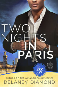 Cover Art for Two Nights in Paris by Delaney Diamond