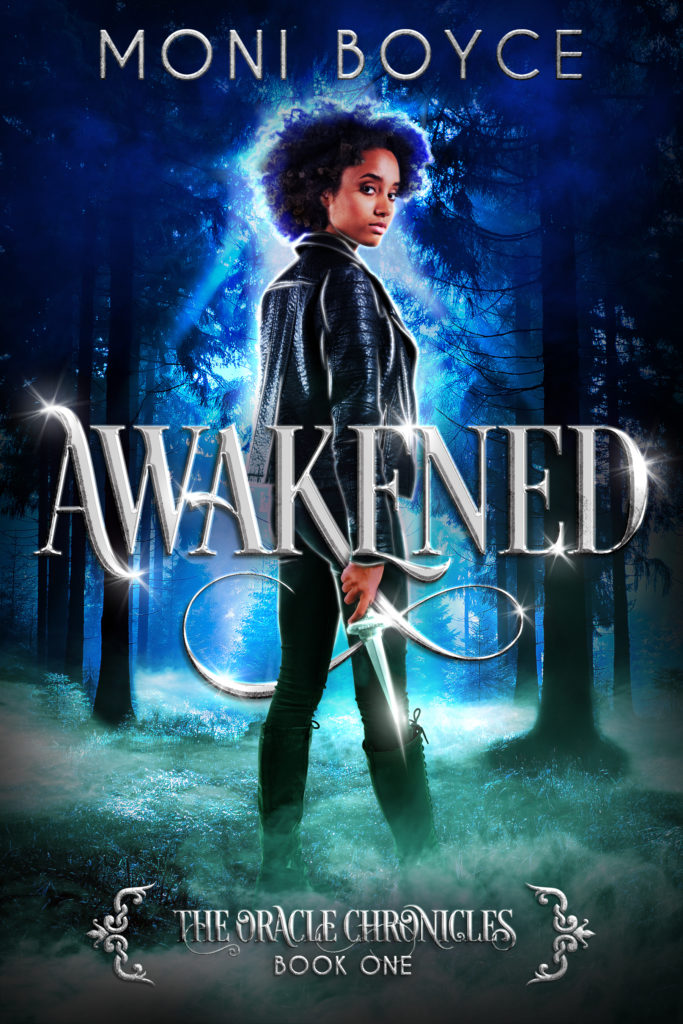 Cover Art for Awakened: The Oracle Chronicles Book 1 by Moni Boyce