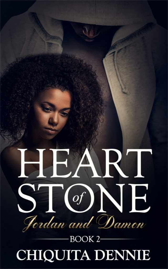 Cover Art for Heart of Stone Series Book 2 (Jordan & Damon) (Heart of Stone Series) by Chiquita  Dennie