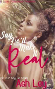 Cover Art for Say He'll Make It Real by Ash Ley