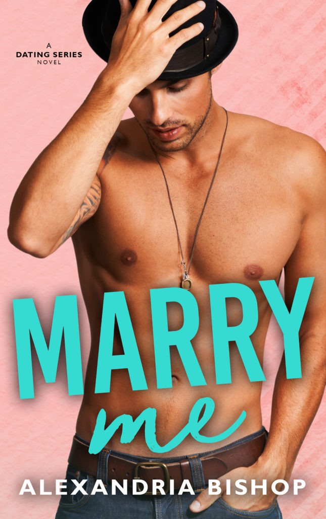 Cover Art for Marry Me by Alexandria Bishop