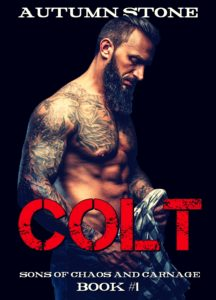 Cover Art for Colt by Autumn Stone