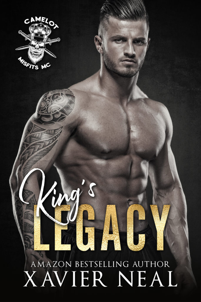 Cover Art for King's Legacy by Xavier Neal