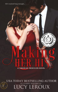 Cover Art for Making Her His by Lucy Leroux