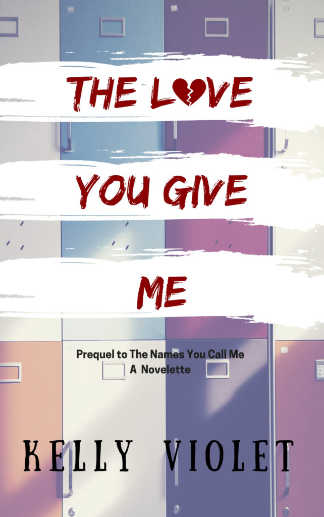 Cover Art for The Love You Give Me by Kelly Violet